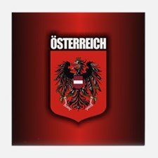 Austrian Stl (round) Tile Coaster
