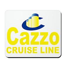 cazzo cruise line(blk) Mousepad