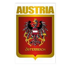 Austrian Steel (shirt) Postcards (Package of 8)