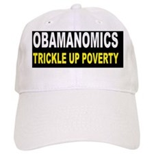 anti obama trickle up povertydbutton Cap