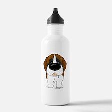 StBernardShirtFront Water Bottle