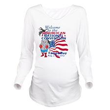 Republican Conventio Long Sleeve Maternity T-Shirt