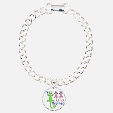 Big Brother of Twin Girl Bracelet