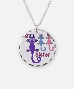 Big Sister of Boy/Girl Twins Necklace