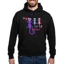 Big Sister of Boy/Girl Twins Hoody