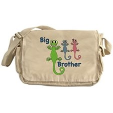 Big Brother of Boy/Girl Twins Messenger Bag