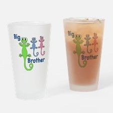 Big Brother of Boy/Girl Twins Drinking Glass