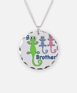 Big Brother of Boy/Girl Twin Necklace