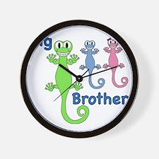 Big Brother of Boy/Girl Twins Wall Clock