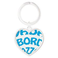 VADA A BORDO Heart Keychain