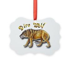 Dire Wolf Ornament