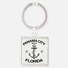 Panama City Beach copy Square Keychain