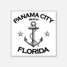 "Panama City Beach copy Square Sticker 3"" x 3"""