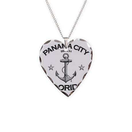Panama City Beach copy Necklace Heart Charm