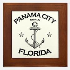 Panama City Beach copy Framed Tile