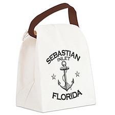 SEBASTIAN INLET FLORIDA copy Canvas Lunch Bag