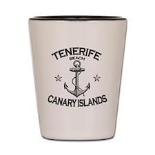 TENERIFE BEACH CANARY ISLANDS copy Shot Glass