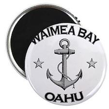 WAIMEA BAY OAHU HAWAII copy Magnet
