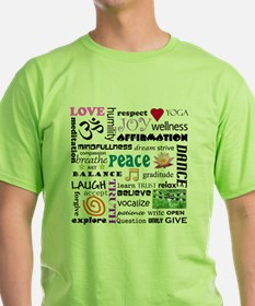 spriitual growth word collage T-Shirt