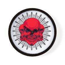 skullpact Wall Clock