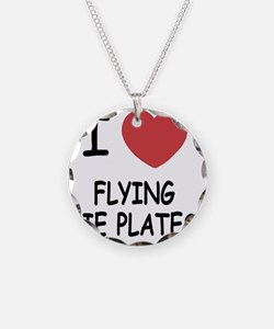 FLYING_PIE_PLATES Necklace