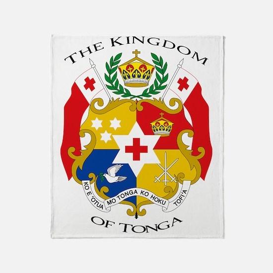 Tonga Sila 16x16 Throw Blanket