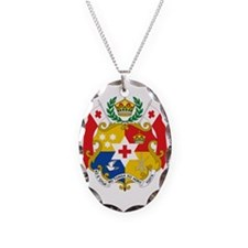 Tonga Sila Wht 16x16 Necklace