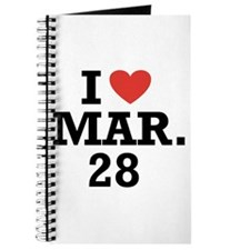 I Heart March 28 Journal