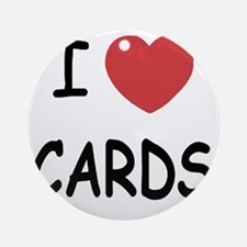CARDS Round Ornament