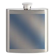 FF-bluediagonalstripes Flask