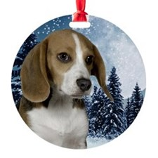 BeagleWinteriPad Ornament