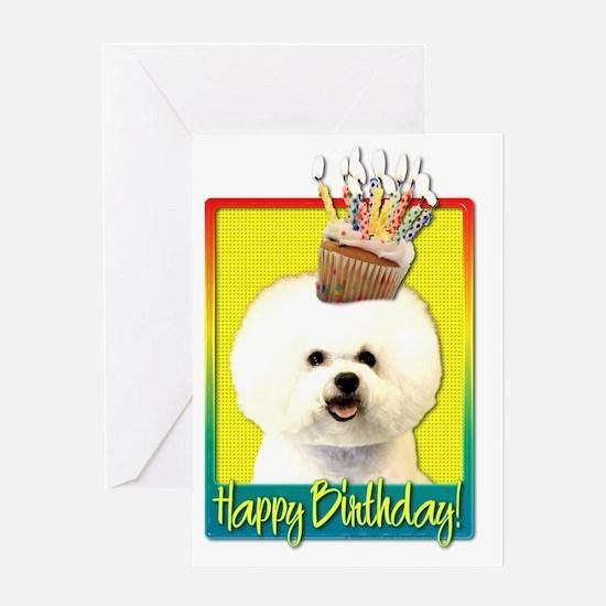 Bichon Frise Birthday Greeting Cards – Birthday Cards App