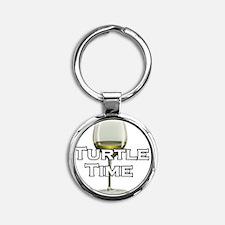 turtletime Round Keychain