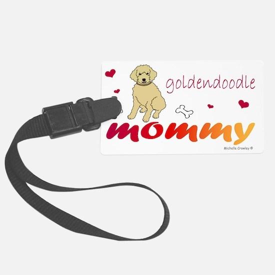 GoldendoodleMommy Luggage Tag