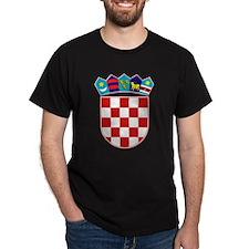 Croatia Hrvatska Emblem T-Shirt