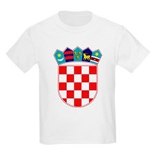 Croatia Hrvatska Emblem Kids T-Shirt