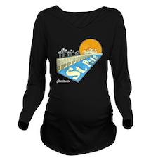 GSStPete01Large Long Sleeve Maternity T-Shirt