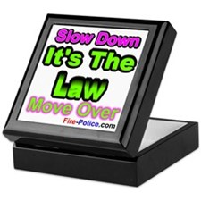 slowdownmoveover3 Keepsake Box