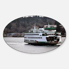 Arrival on Water Sticker (Oval)