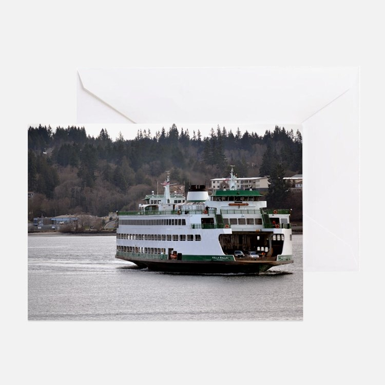 Arrival on Water Greeting Card