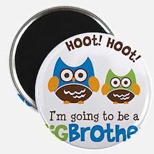 HootHootBigBrotherToBe Magnet