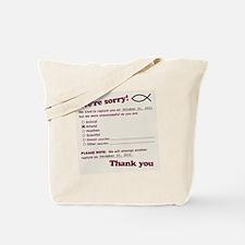 jesusfishdrk Tote Bag