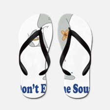 Dont Eat the Soup Flip Flops