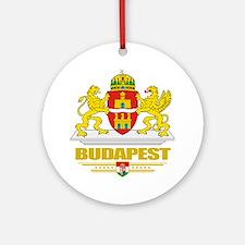 Budapest COA (Flag 10) Round Ornament