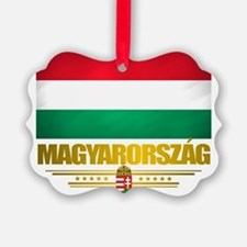 Hungary (Flag 10) Ornament