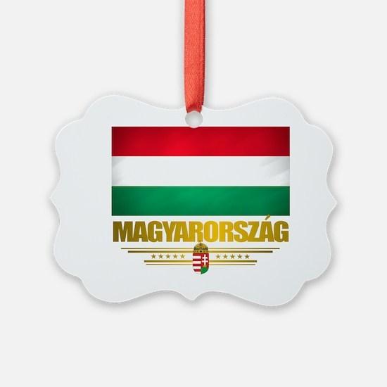 Hungary (Flag 10) Ornament