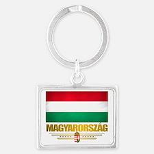 Hungary (Flag 10) Landscape Keychain