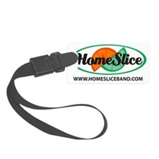 Logo with Large URL Luggage Tag