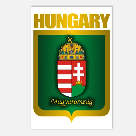 Hungarian Gold Postcards (Package of 8)