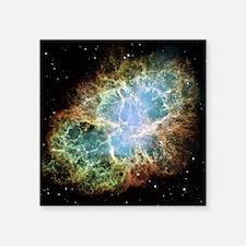 "Crab Nebula  Square Sticker 3"" x 3"""